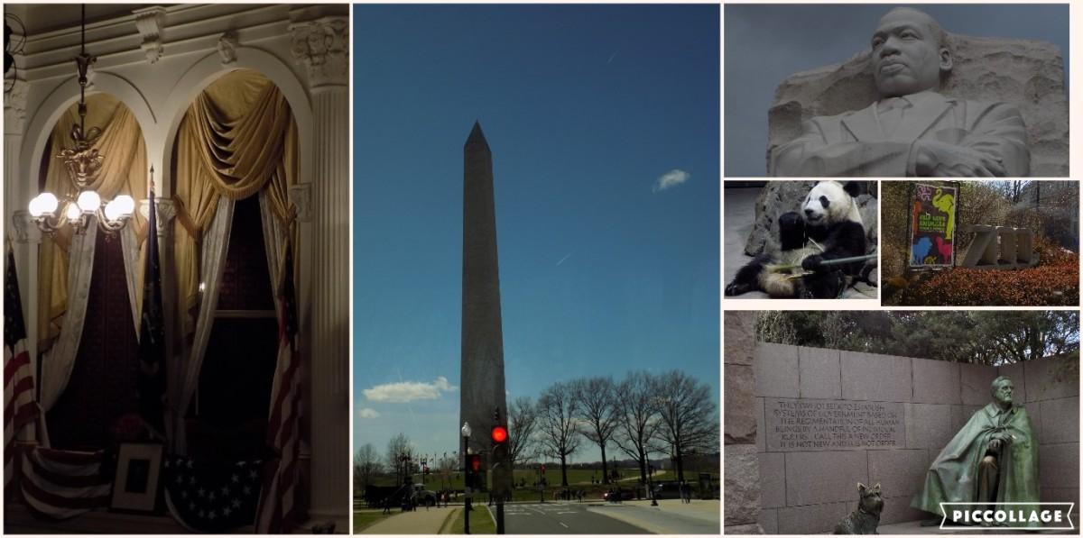 Jalan Jalan Washington Dc Teater Ford Panda Dan Washington Monumen